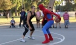 Spiderman mag Basketball